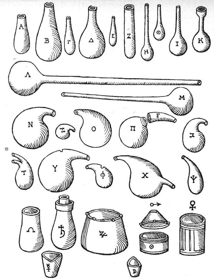 Libavius utensils