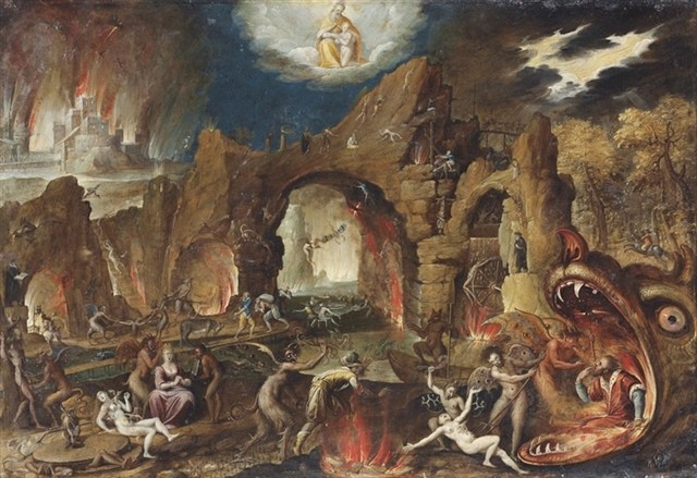 Famous Paintings of Hell http://www.alchemywebsite.com/paintings/artweblog.html